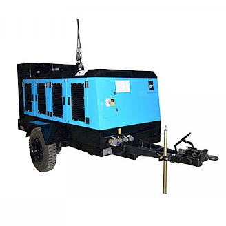 KIRLOSKAR DIESEL ENGINE DRIVEN PORTABLE COMPRESSORS